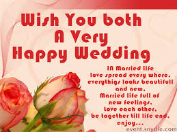 happy wedding wishes wish you both a happy wedding