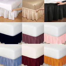 Wrap Around Bed Skirts Bed Skirts Ebay
