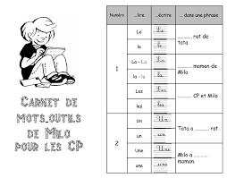 Carnet de motsoutils  laeti7331