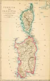 Sardinia Map The Project Gutenberg Ebook Of Rambles In Corsica And Sardinia By
