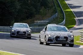 spyshots 2017 audi a5 s5 interior revealed autoevolution