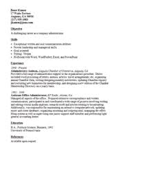 Military Resume Sample by Military Resume Samples Sections And Writing Tips