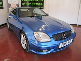 used mercedes benz slk 3 2 for sale motors co uk