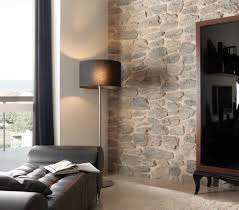 Faux Brick Interior Wall Covering Decorating Faux Stone Panels By Genstone Siding With Floor Lamp