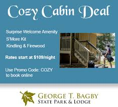 Winter Deals On S Overnight Accommodation Deals Special Offers State Parks