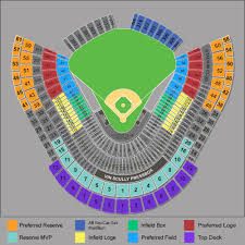 Dodger Stadium Parking Map Dodger Stadium Los Angeles Tickets Schedule Seating Charts