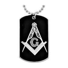 engravable dog tag necklace engraved dog tag necklace the masonic exchange