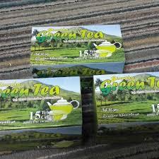 Teh Murah green tea ginatha teh hijau untuk kesehatan murah wonosobo sb