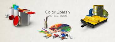 colors splash color splash collection object images available for download