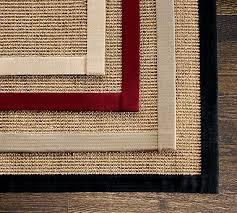 Bound Sisal Rug Boucle Sisal Rugs Eco Friendly Carpet