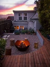 The Backyard by This Small Backyard In San Francisco Was Designed For Entertaining