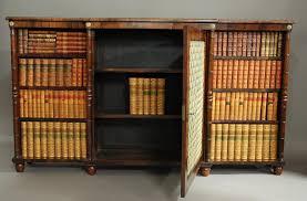Break Front Bookcase Regency Rosewood Breakfront Bookcase In Sold Archive