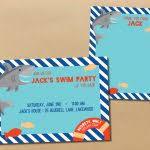 unique ideas for shark birthday invitations free ideas egreeting