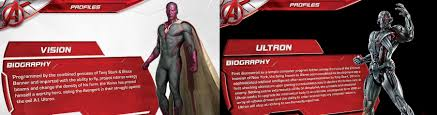 vision and ultron u0027s origins in u0027avengers age of ultron u0027 leaked