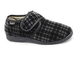 foster footwear men u0027s dr keller don wide fitting velcro check