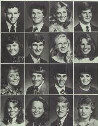 1983 yearbook photos 1983 hair in the highlander yearbook of highland park high