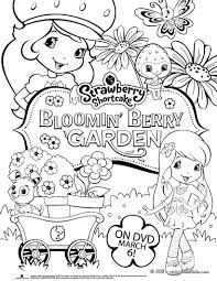 strawberry shortcake new dvd coloring pages hellokids com