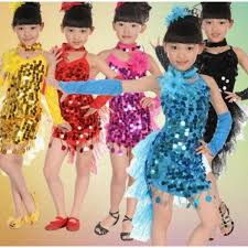kids samba turquoise fuchsia yellow cocktail sequin costumes samba
