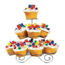 2 x sainsburys 3 tier london england uk card cupcake cake stands