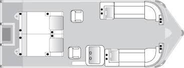 tritoon classic floorplans jc tritoon marine