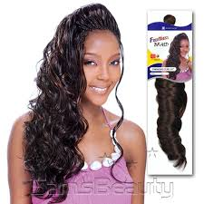 crochet hair freetress synthetic hair crochet braids paradise curl 18 samsbeauty