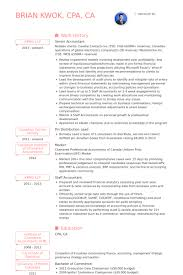 Sample Resume Of Cpa by Senior Accountant Resume Samples Visualcv Resume Samples Database