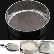 utile en acier inoxydable mesh flour tamisage tamis tamis tamis