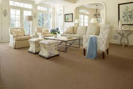 Avalon Flooring For A Family Room With A Tan Carpet And Family - Family room carpet