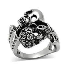 art deco skeleton ring holder images 158 best goth engagement rings images skull rings jpg