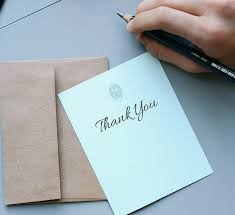 end of internship thank you note examples career acme