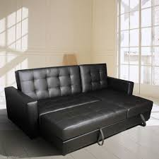 Convertible Sectional Sofa Bed Living Room Convertible Sectional Sofa Black Pcs Set By Poundex