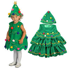 carnival clothes for children green novelty baby winter