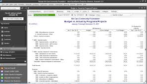 Financial Statement Template For Non Profit Organization by Non Profit Accounting Software Quickbooks Desktop Enterprise
