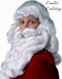 santa beard santa wig santa wig and beard santa claus yak hair wig beard set