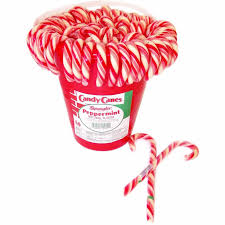 plastic candy canes wholesale traditional peppermint candy canes 60ct tub grocery