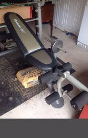 powerhouse weight bench bench decoration