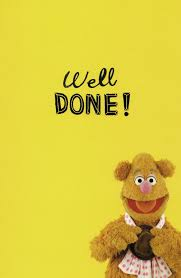 fozzie hats congratulations card disney muppets greeting
