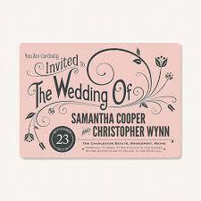 vintage style wedding invitations modern vintage wedding invitations with vintage typography