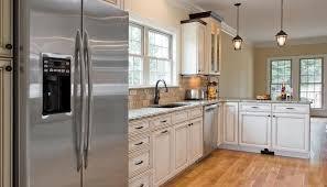 Grey Kitchen Cabinets With White Appliances Dark Kitchen Cabinets With White Appliances Nucleus Home Kitchen