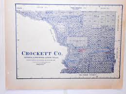 ozona map crockett county land office owner map ozona emerald