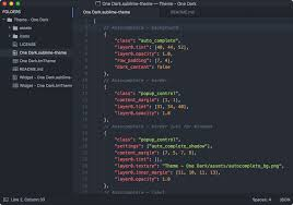 atom color themes theme one dark packages package control
