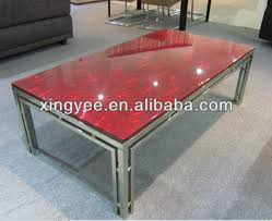 Granite Top Coffee Table Stainless Steel Red Granite Marble Coffee Table Buy Marble Top