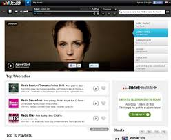 deezer music streaming service ghacks tech news