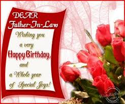 Wishing You A Happy Birthday Quotes 42 Father In Law Birthday Wishes