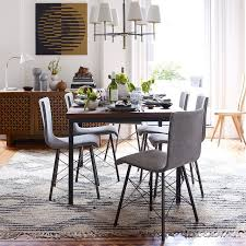 industrial dining table elm