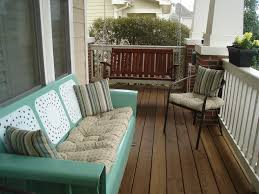 origin and history of old metal glider vintage patio and porch