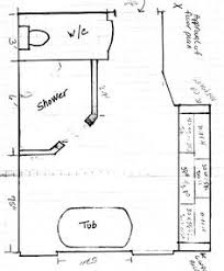 bathroom design dimensions dimensions for bath with doorless shower 3x5 minimum but will