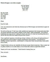 designing a cover letter web designer cover letter 7 web designer cover letter exle