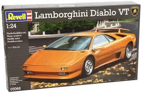 lamborghini diablo classic revell 07066 lamborghini diablo vt model kit amazon co uk toys