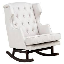 Rocking Chair Cushions White Best White Rocking Chair Nursery About Remodel Home Remodel Ideas